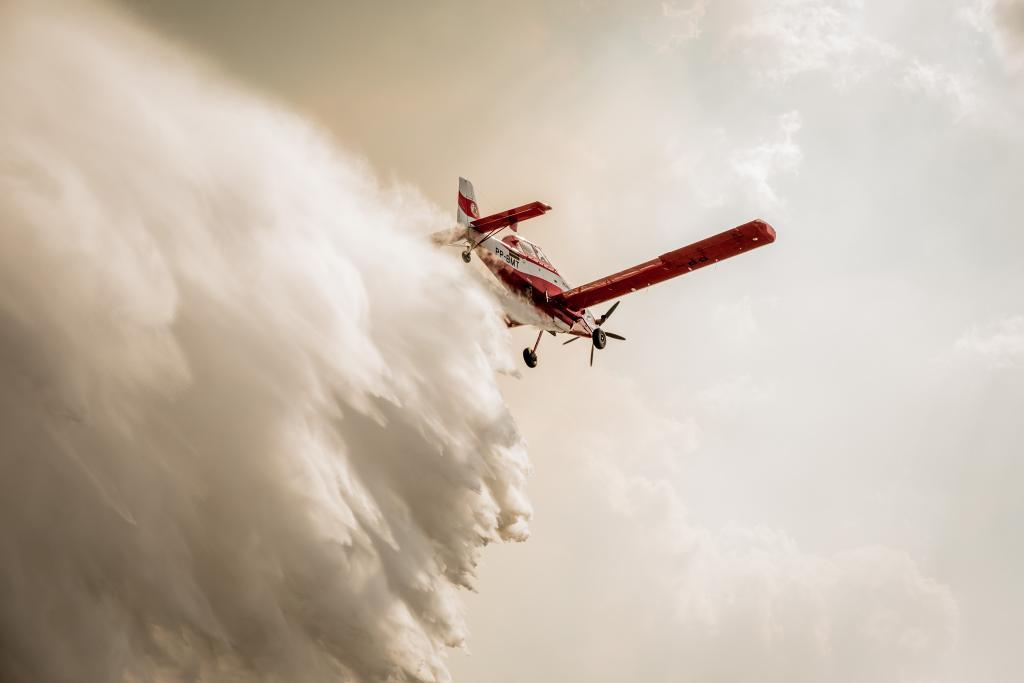 Combate a Incêndios Air Tractor Governo