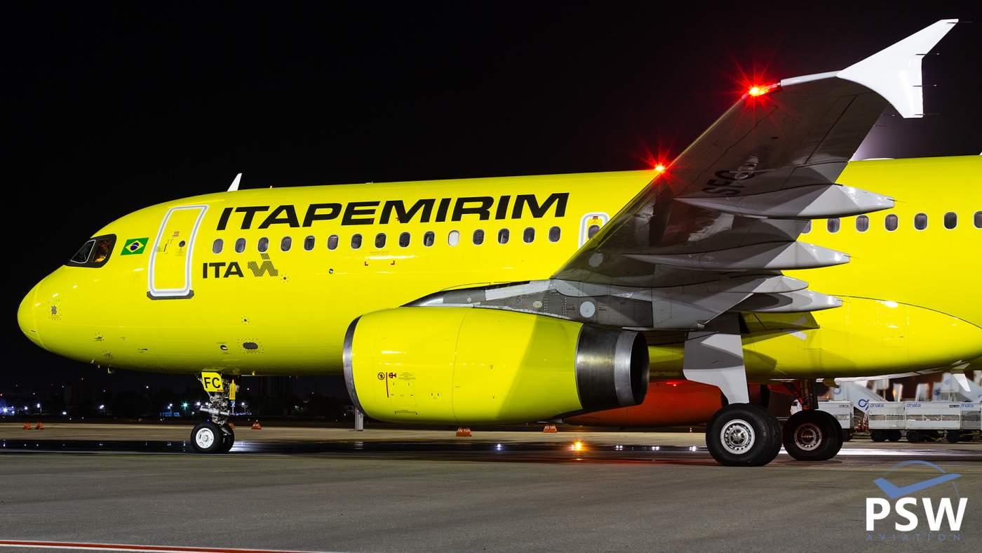 ITA Itapemirim Fortaleza Recife Maceió Airbus A320