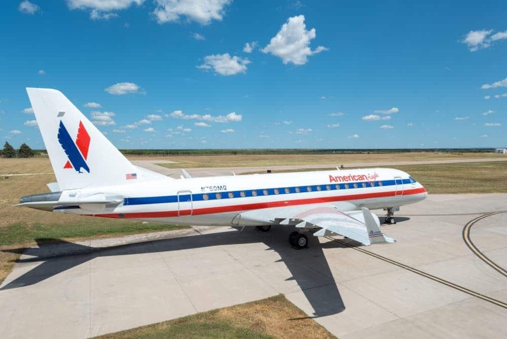 Envoy American Eagle Embraer 170