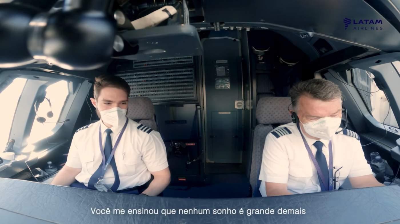LATAM Pilotos Dia dos Pais