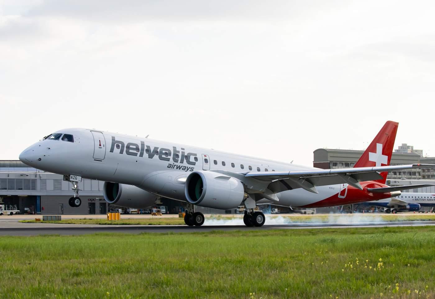 E195-E2 Embraer London City