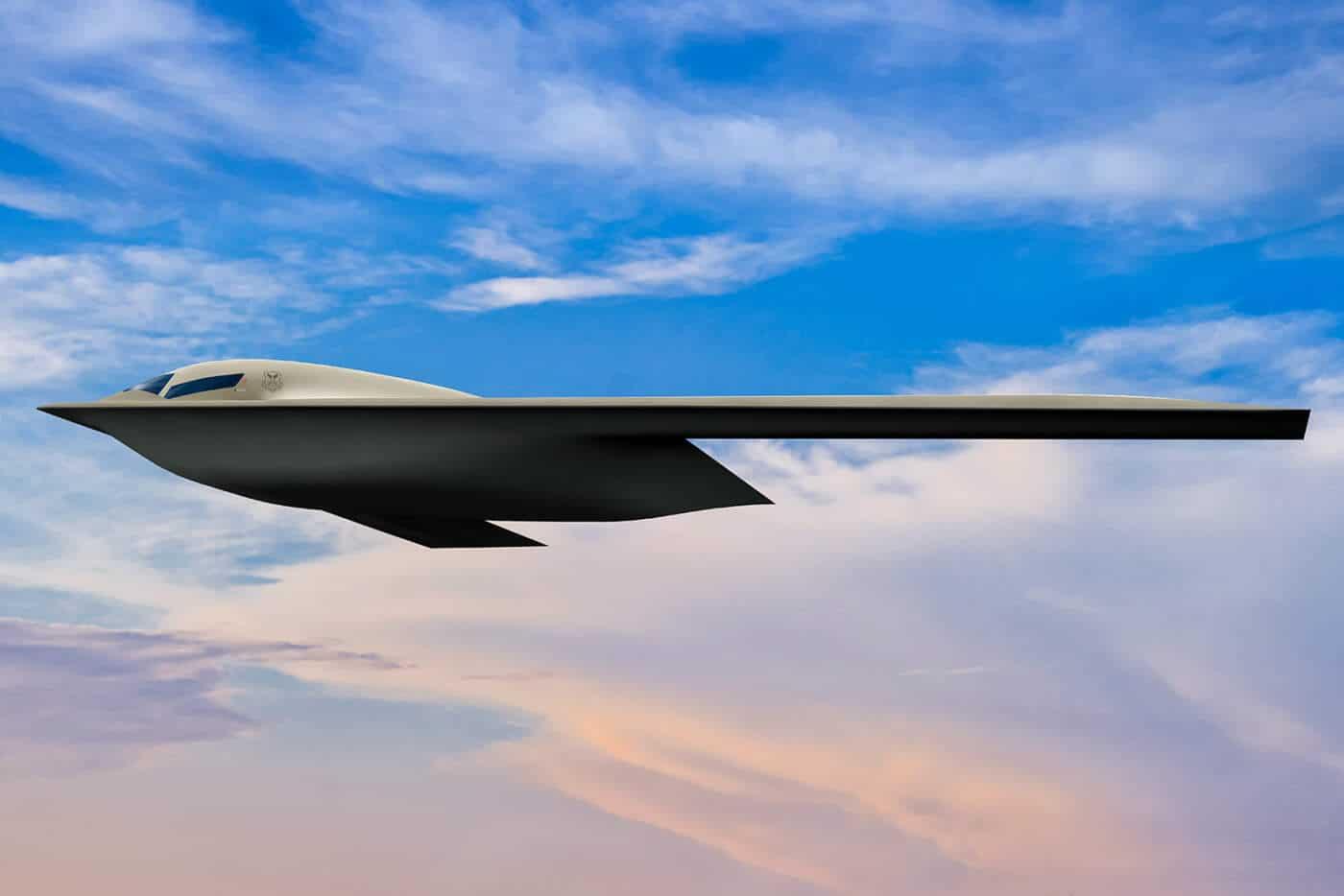 Futuro bombardeiro estratégico dos EUA