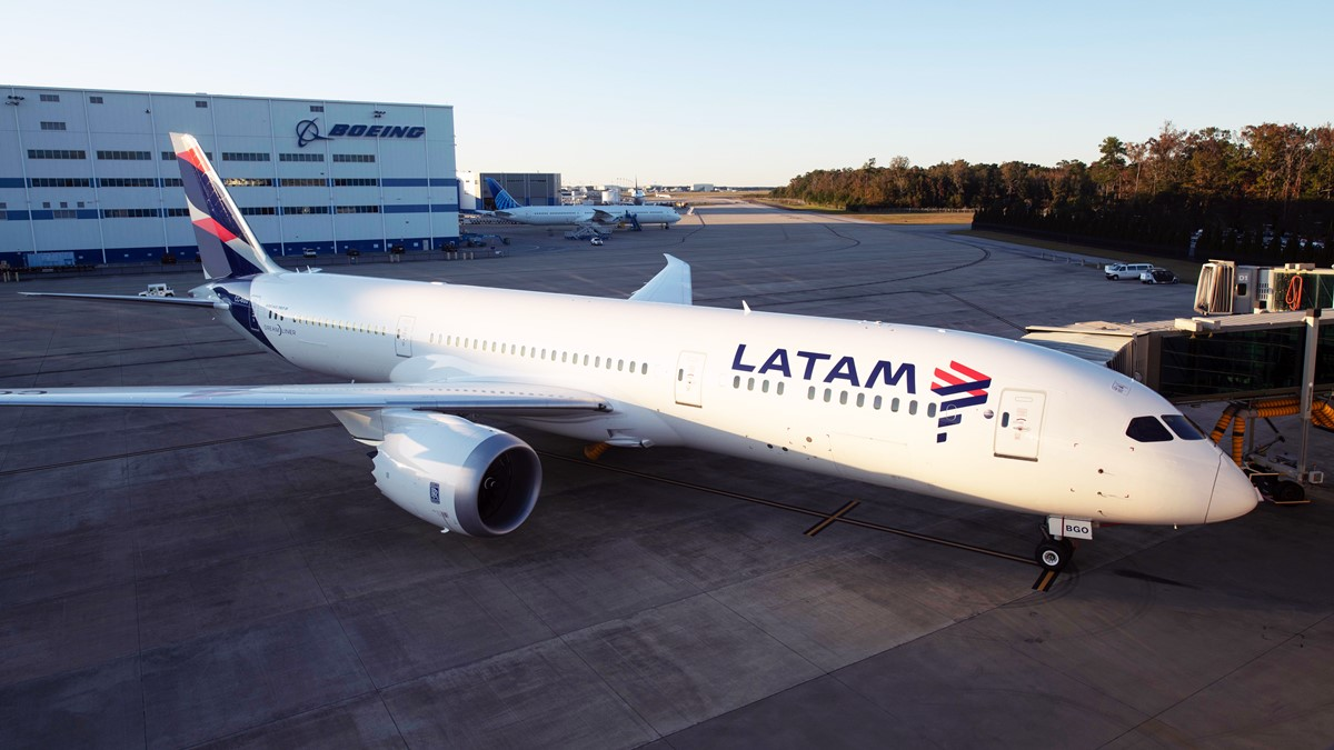 Boeing 787 LATAM