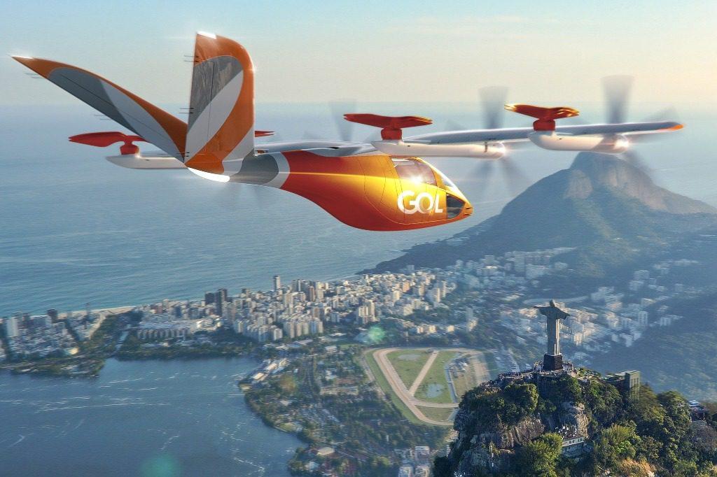 GOL eVTOL aeronaves Elétricas