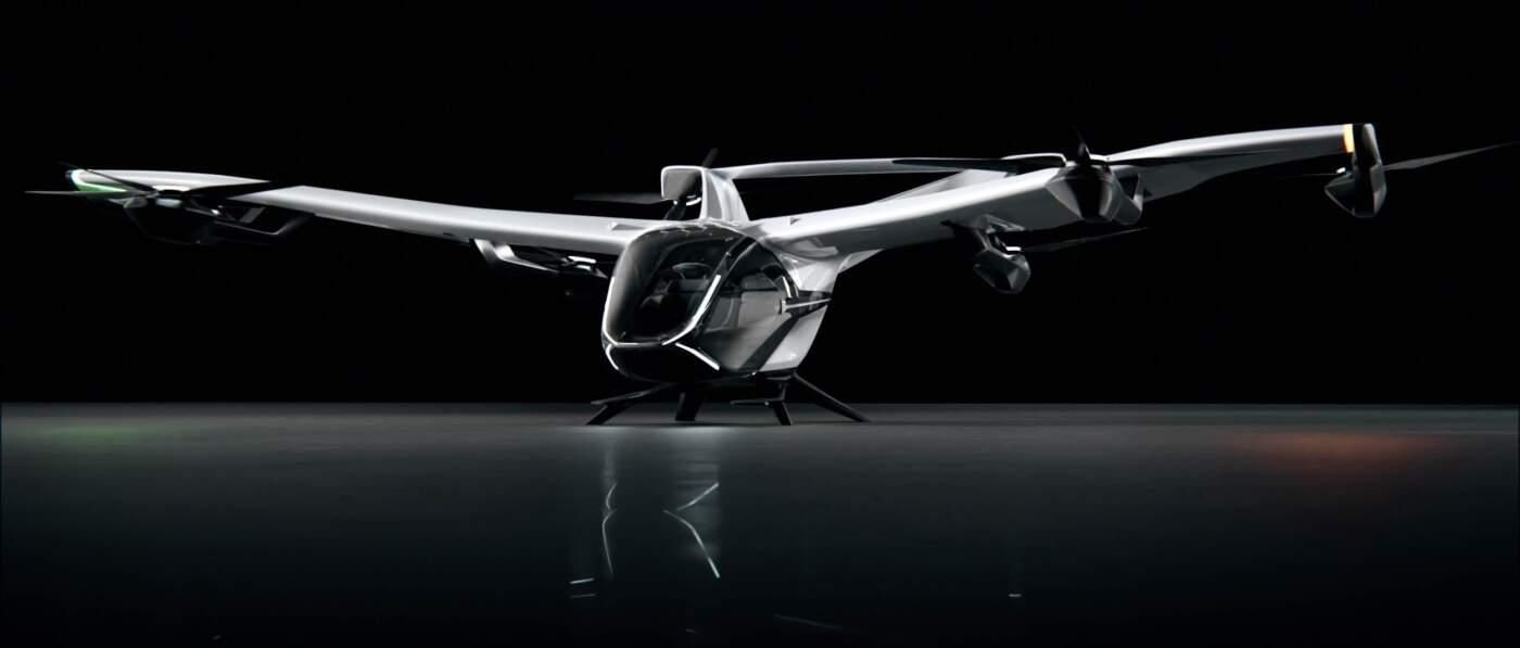 Airbus eVTOL Aeronave Elétrica