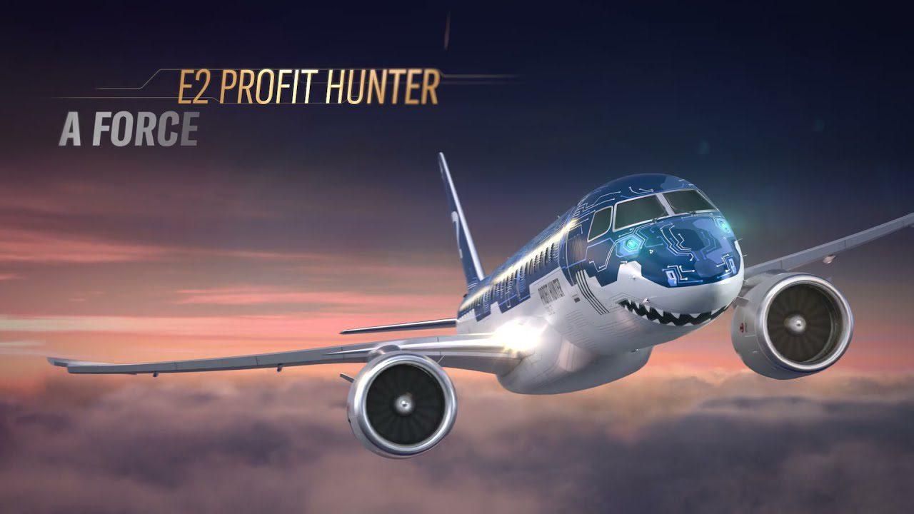 Embraer Tech Shark E190-E2