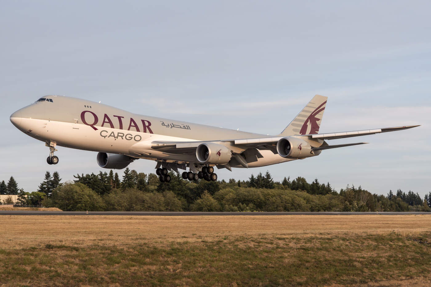 Boeing 747-8 Qatar Fórmula 1