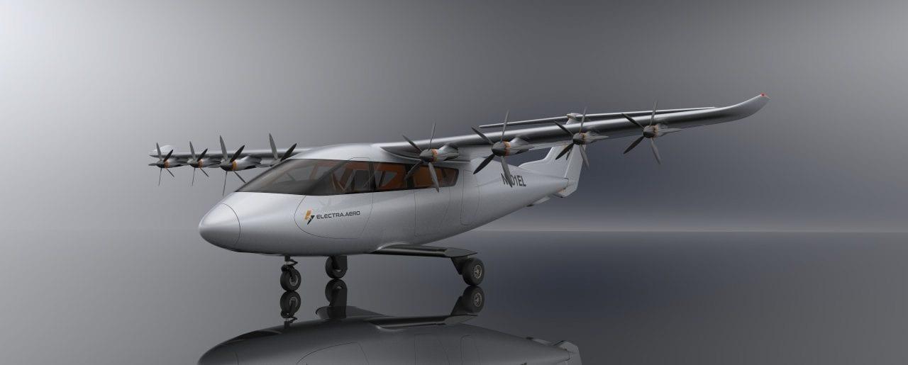 Aeronave eSTOL Flapper