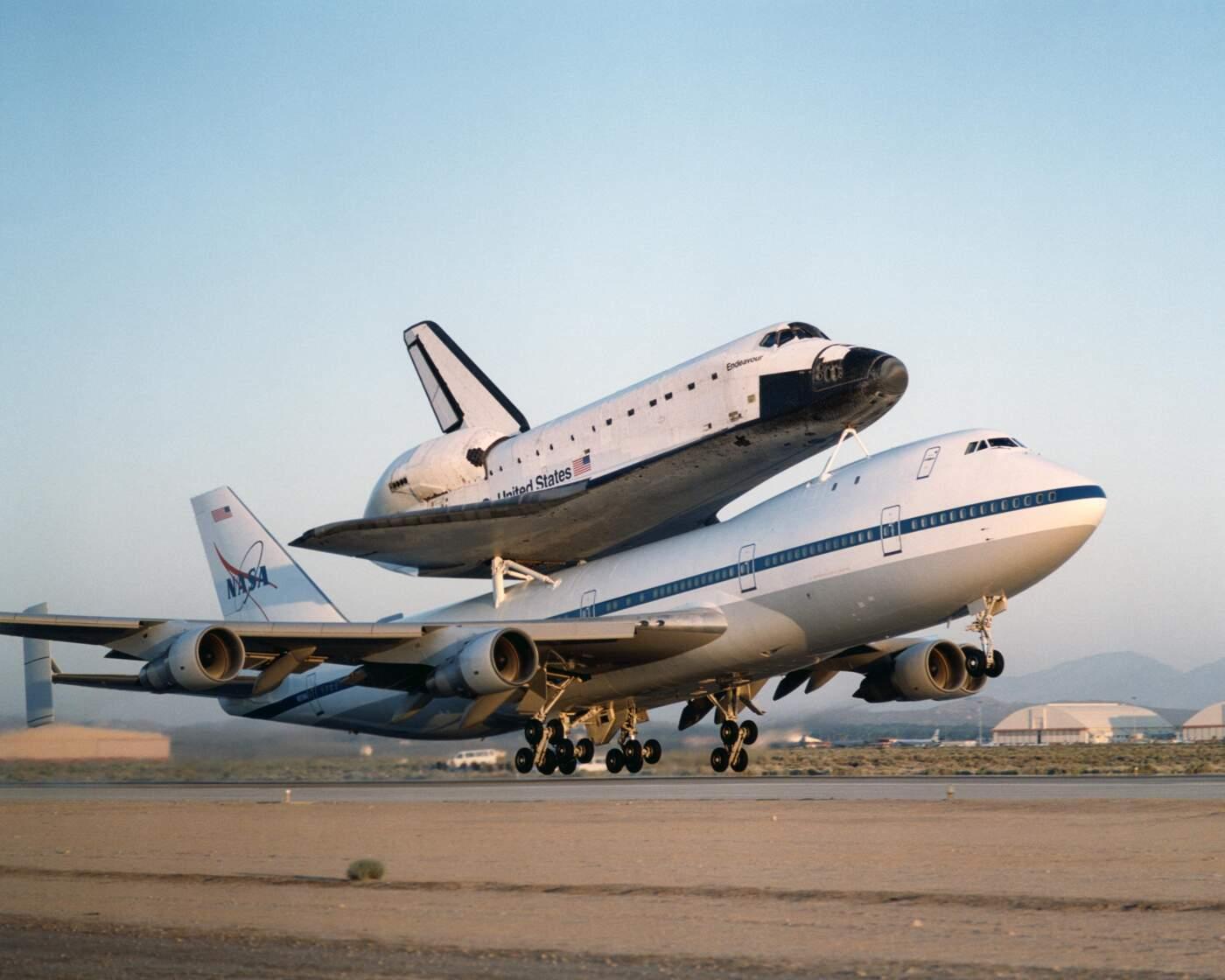 NASA Boeing 747